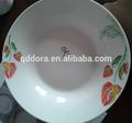 Di uso quotidiano in ceramica piatto fondo, tavola in porcellana piatti di piatti di ceramica piatto da portata, piatto fondo piatti piani intorno