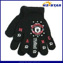 HZS-13165 design 2014 football club team gloves