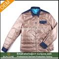 deinvierno nuevo estilo cálido forro camisa guayabera hombres camisas acolchadas