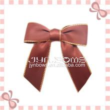 wholesale satin/grosgrain ribbon/star bow for Box packaging