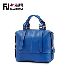 Factory made PU material women business leather handbag shoulder bags for lady wholesale handbag china