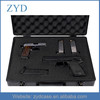 China Fashion Aluminum Pistol Carrying Case with hand for High Quality ZYD-HZMgc005