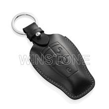 Leather Key Case Holder with Customized Car Key Shape