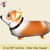 Hot sale dog shape walking balloon pet,foil balloon,helium balloon
