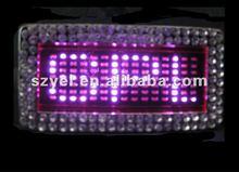 2012 hot selling Message Scrolling LED belt buckle