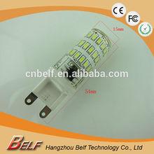 Wholesale Hot 360 degree 350 lumen smd3014 mini epistar g9 led light