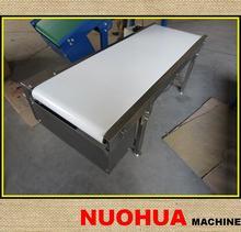 Stainless steel food belt conveyor/food packing line