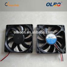 120mm 12V 0.1A DC plastic fan small axial cooling fan
