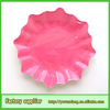 soild colour disposable paper plate manufacturers in china