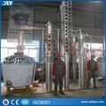 Utiliza con frecuencia de cobre rojo destilador de alcohol de la máquina para la fabricación de mejor vodka, de whisky, el alcohol