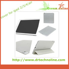 Factory wholesale smart cover silicone case for ipad mini stand case