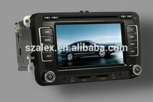"""ALEX 7"""" HD touch screen Car DVD Player Car GPS Navigation for Passat B6 VW CC Jetta Golf 5 Golf 6 Polo Tiguan Skoda"""
