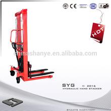 2000kg Hydraulic Hand Stacker hydraulic lift truck attachments