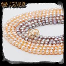 2014 fashion freshwater pearl jewelry pearl strand wholesale