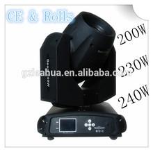 Professional 230w Sharpy 7r Beam Moving Head Light,Beam 230 Moving Head