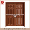 dupla de madeira mdf pvc apartamento porta de entrada da porta de descarga