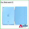 Transformer and Stand Leather Case for iPad Mini with Retina