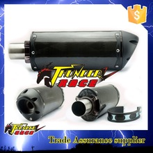 Carbon fiber muffler exhaust pipe motorcycle