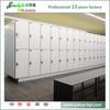 JIALIFU sutable for sauna room 4 tiers locker with stainless steel bench