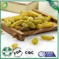 Venta al por mayor de grosella verde/de pasas de uva verde con alta cantidad del