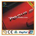 focus 3d car logo chromed car stickers car door logo