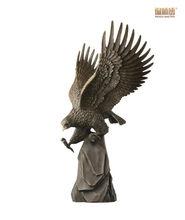 Brass Master Bronze Eagle Sculpture