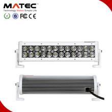 White or Black cover 360 rotation 120w led light bar for atv
