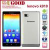 bulk buy small size mobile phones vibe z k910 phone mobile 5.5'' IPS Quad core Snadragon 800 Dual SIM Android 4.2 sliver