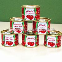 oem brand canned food organic tomato paste