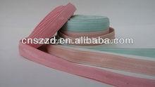 1.3 cm colored woven silicone elastic tape
