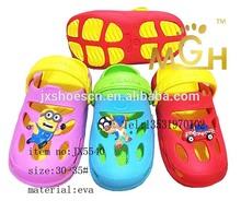 plastic comfort eva kids sandal