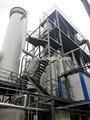 Maíz escarpada evaporador de agua usando residuos de calor 4 efectos