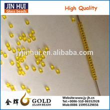 JINHUI High quality transparent colorg lass bead for decorating