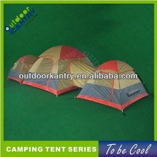 family camping tent children 3 rooms group camping tent tunnel design tent 2015