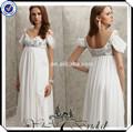 gt0038 flowy chiffon grávida vestido para o casamento