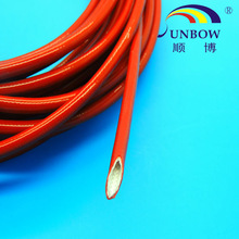 10kv silicone rubber coated fiberglass tube sleeving