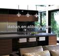 china de color negro laca moderna gabinetes de la cocina