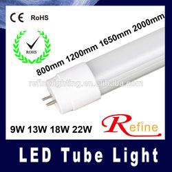 led tube light 9W 13W 18W 22W T8 led tube light