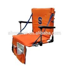 Folding Stadium Chair, Portable Stadium Cushion Floor Chair