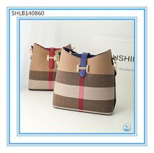 Wholesale Brand Name Handbag Woman Plaid Top Sale Shoulder Bags