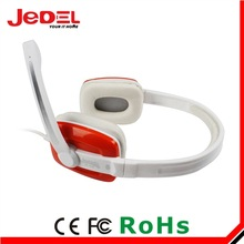 2014 good quality fashion stereo noise cancelling headphone with microphone