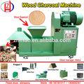 Multi- función la energía- eficiente de aserrín de madera de la máquina del carbón de leña de equipos