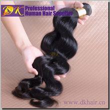 Natural primas sin procesar del pelo ervamatin