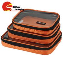 Nylon Zipper Bags Clear PVC Bags Cosmetic Packaging