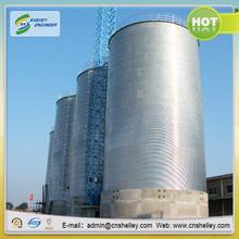 galvanized black rice bran storage steel silo bin for sale