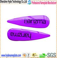 epoxy sticker with 3M adhesive plastic anti radiation sticker
