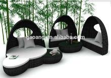 2014 new outdoor /indoor garden set clear elegant with tent