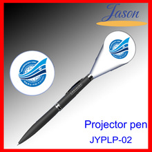 Shenzhen Factory Promotional Lasre LED Logo Projector Ballpoint Gift Pens