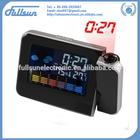 color screen calendar clock FS-8190