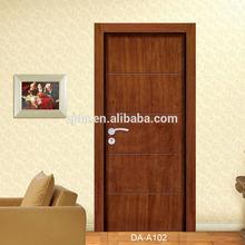 ตำแหน่งภายในและประเภทการรักษาความปลอดภัยประตูประตูภายในประตูไม้ที่เป็นของแข็ง( da- a102)